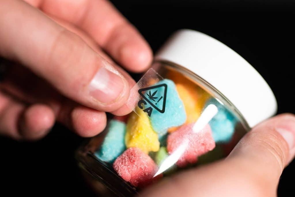 cannabis compliance gummy bears