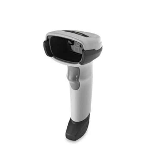 zebra ds2208 handheld scanner white side view
